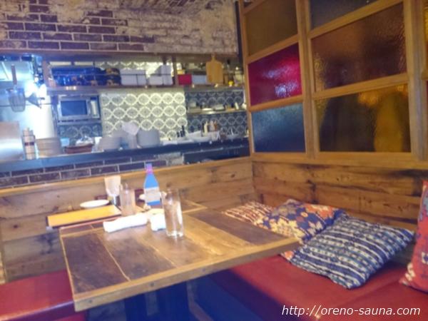人形町スペインバル 店内画像