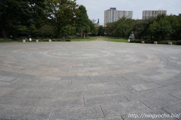 浜町公園円形のエリア画像