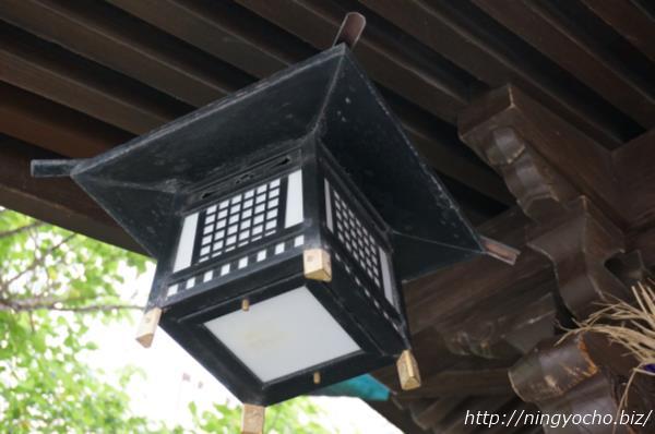 茶の木神社明かり画像