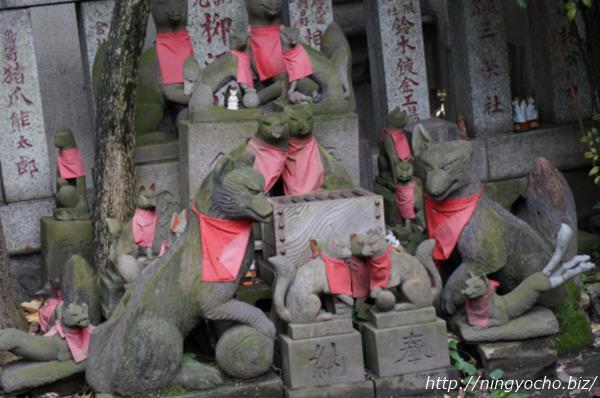 笠間稲荷神社寿老神画像