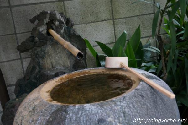 笠間稲荷神社手水舎画像