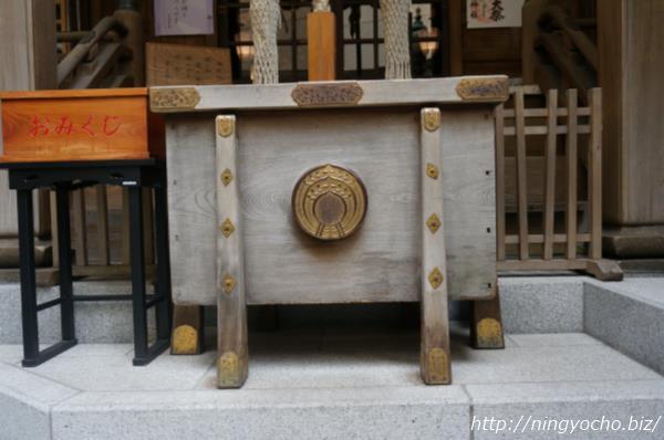 小網神社お賽銭箱画像