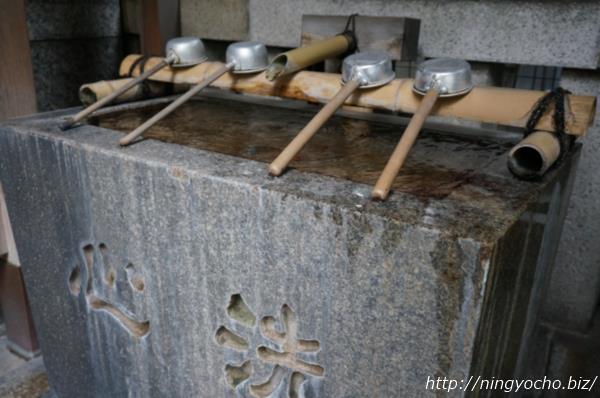松島神社手水舎画像
