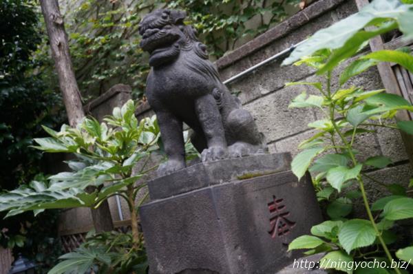 末広神社狛犬右画像