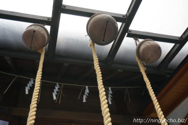 末広神社の鈴画像