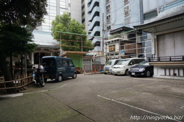 椙森神社駐車場画像