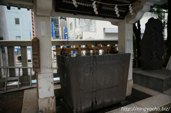 椙森神社手水舎画像