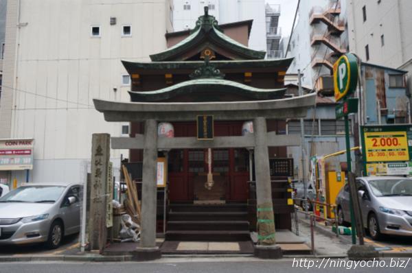 寶田恵比寿神社外観正面画像
