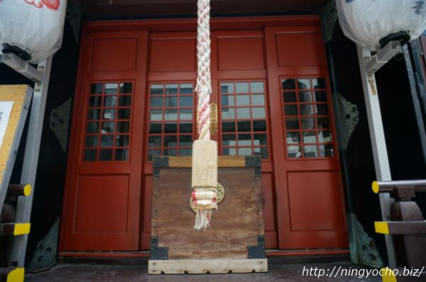 寶田恵比寿神社本堂画像