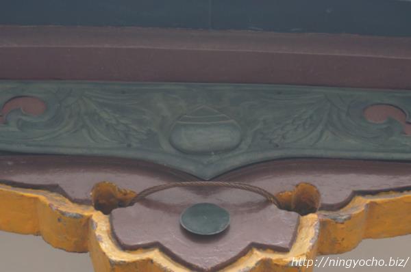 寶田恵比寿神社木彫り栗画像