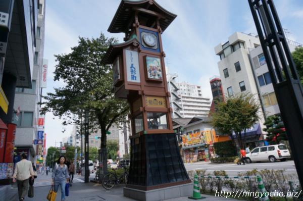 人形町からくり櫓画像