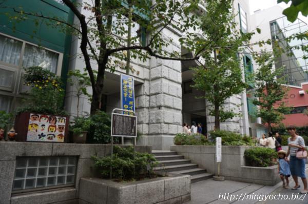 日本橋小学校西郷隆盛宅跡画像
