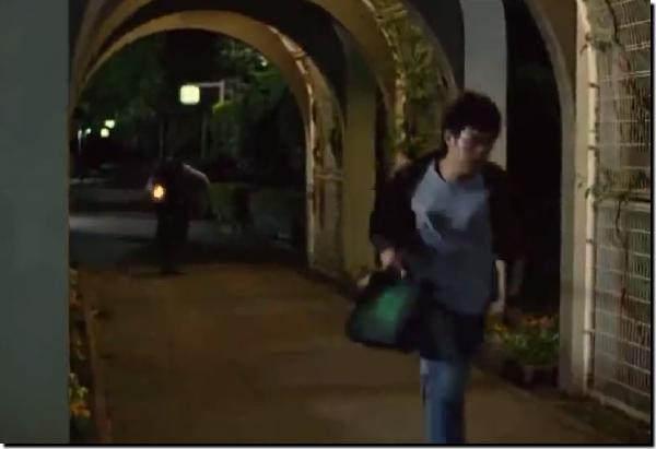 「新参者」ロケ地「浜町緑道」キャプチャ画像