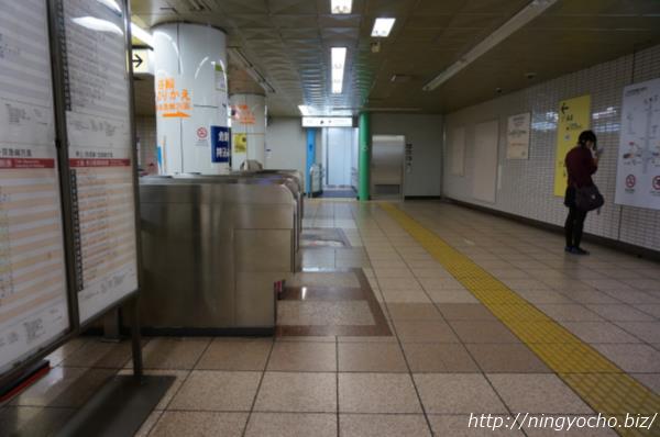 人形町駅トイレ画像