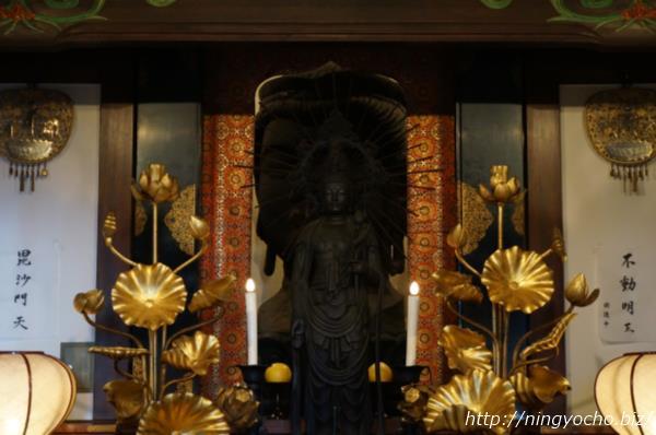 大観音寺「鉄造菩薩頭」画像