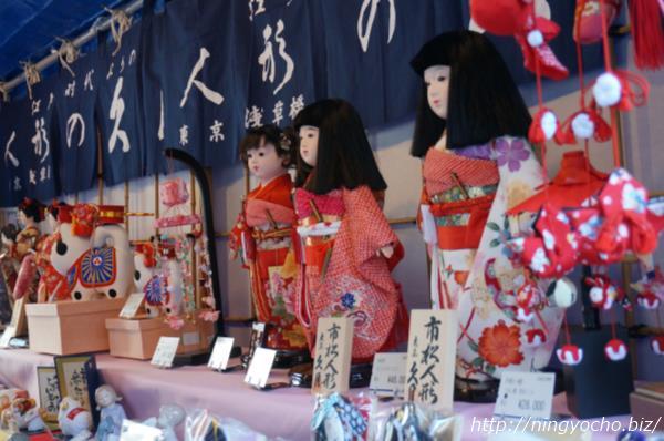 人形市商品陳列画像